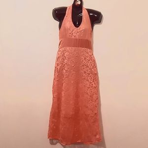 Manhattan Blues Peach dress